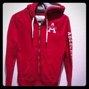 Abercrombie THICK zip up hoodie